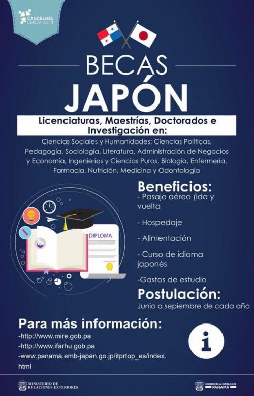 Upinforma Becas Para Estudiar En Jap N