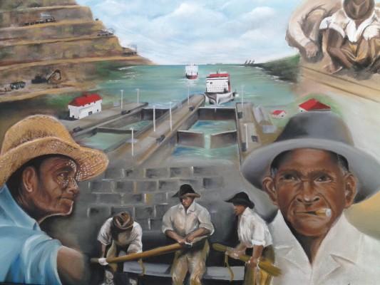 Exposición De La Etnia Negra En La Galería De