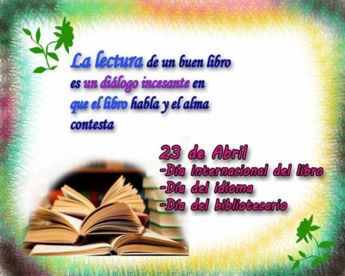 Alocución Conmemorativa Al 'Día Del Idioma'